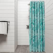 gatkamomill duschvorhang türkis weiß 180x200 cm