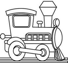 Train Locomotive 41 Transport Coloriages à Imprimer