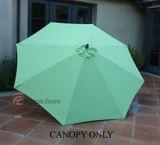 Market Umbrella Replacement Canopy 8 Rib by 9 Ft Umbrella Replacement Canopy Ebay