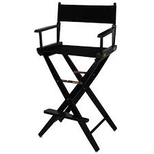 Aluminum Directors Chair Bar Height by Directors Chairs Amazon Com