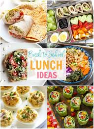 School Lunch Ideas This Round Up Of Meal Prep