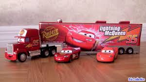 100 Mack Truck Hauler Disney Youtube