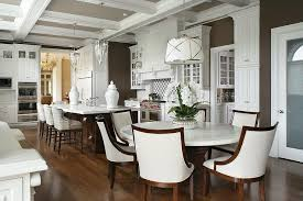 Dining Tables Glamorous Round White Marble Top Table With Room Ideas 4