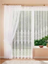 fertiggardinen miracle 01 weiß vorhang stores blumenfenster seitenschal neu ebay