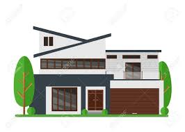 104 Modern Dream House A Vector Illustration Of Beautiful Real Estate Family Home Architect Business Concept Facade Apartment Cottage In Flat Style Royalty Free Cliparts Vectors And Stock Illustration Image 97617355
