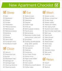 Printable First Apartment Essentials Checklist Latest