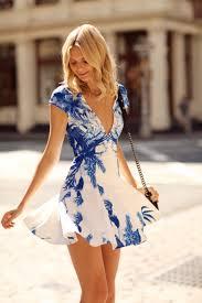 flowy floral short summer dresses to feel amazing u2013 designers