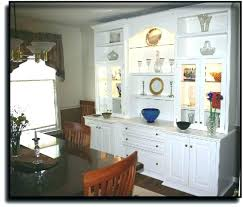 Built In Dining Room Cabinet Wall Cabinets Ins Hung