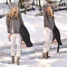 Fashion Winter Outfit In The Snow Cute