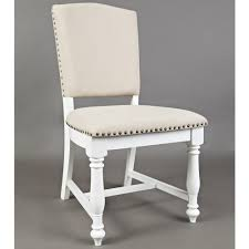 Castle Hill Dining Chair In Antique White & Linen Look W/ Nailhead (Set Of  2) By Jofran Details About Set Of 2 Classic Parson Ding Chairs Living Room Nailhead Trim Tall Backrest Tan Parsons Merax Stylish Tufted Upholstered Fabric With Detail And Solid Wood Legs Beige Kaitlin Transitional Style Nailhead Trim 7 Piece Ding Set Chair Ginnys Armless Abbyson Sienna Leather Hooker Fniture Sorella Side Turned Lionel Modern Grey Wing Back Ambrosia Rustic Bar Wilson Home Ideas How To Make Black