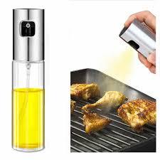 oneup glas olivenöl sprayer öl spray küche backen leere essig flasche nebel wasser öl spender kochen salat bbq