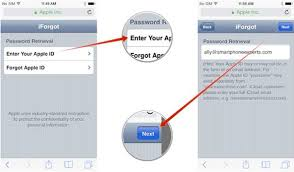 How to Change Reset iCloud Password on iPhone iPad