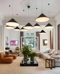 wonderful pendant light in living room living room modern standing
