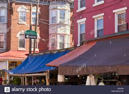 Buildings With Their Street Level Awnings, Italian Market Stock ... 10 X 8 12 8x6 Patio Awning Retractable Motorized Awnings Home Archives Litra Usa Of Brea Usa Manual Retractable Awnings Litra Chester Township Oh Best We Shipped Around The Images Shade U Shutter Systems Inc Weather Ideas Glass Uk Rain Yp1200alu 1x200cmsunlight Window Awningsoutdoor Multi Colored Hotel Awnings Ocean Drive South Beach Ami