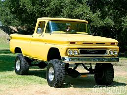 100 61 Chevy Truck Off Road 4X4 Off Road 4x4