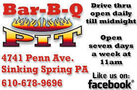 Bbq Pit Sinking Springs Pa by Contact Us