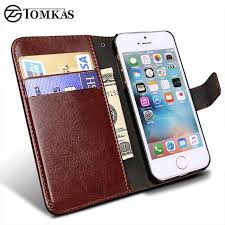Wallet Leather Case for Apple iPhone 5S 5 SE Luxury Flip Coque