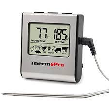 thermometre cuisine pas cher thermopro tp 16 thermomètre alimentaire électronique de cuisine