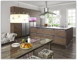 Remarkable Kitchen Modern Rustic Hardwood Floor Cabinets