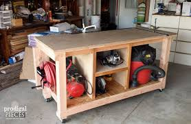 diy workbench fit for a junker prodigal pieces