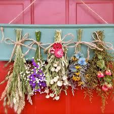Flower Drying Rack Dried ArrangementPrimitive Mothers Day Wall Decor