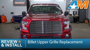 100 Grills For Trucks 20152016 F150 Billet Upper Grille Replacement Polished Review