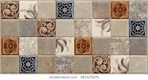 Wall Tiles Marble Pattern Kitchen And Bathroom Tile Lace Flower Vintage Background