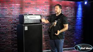 Ampeg V4 Cabinet Ohms by Ampeg V 4b 100w All Tube Bass Head Youtube