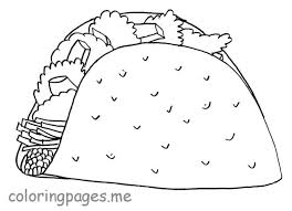 Coloring Pages Food Sheets Page Image Chain For Preschoolers Simple