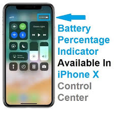 How To Check The Remaining Battery Percentage iPhone X