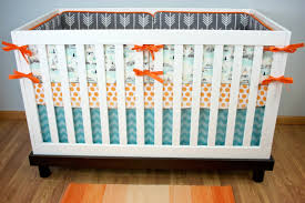 teepee crib bedding baby boy nursery bedding arrow crib set