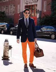 Mens Orange Pants Outfits 35 Best Ways To Wear
