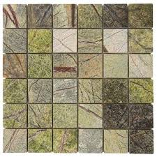 mosaique poli green forest vert 4 8x4 8 plaque 30x30 product