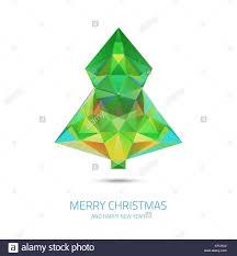 Vector Crystal Christmas Tree