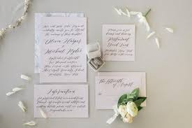 Modern Rustic Wedding Invitations With Neutral Color Scheme And Calligraphy