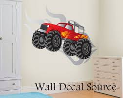 Wall Decal: Awesome Monster Truck Wall Decals Ideas Monster Truck ... Trendy Inspiration Ideas Monster Truck Wall Decals Home Design Ideas Monster Trucks Wall Stickers Vinyl Decal Hot Dog Food Truck Fast Cooking Best 20 Collecton Tractor Decals Farmall American Driver Trucking Company Service Ems Emergency Vehicles Fire Police Cars New Chevy Dump For Sale Together With As Train Car Airplane Cstruction And City Designs Whole Room In Cjunction Plane And Firetruck Printed