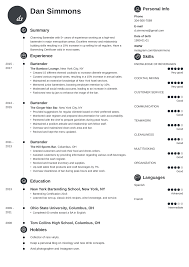 Bartender Resume: Sample & Complete Guide [+20 Examples] Bartender Resume Skills Sample Objective Samples Professional Cover Letter For Complete Guide 20 Examples Example And Tips Sver Velvet Jobs Duties Forsume Best Description Of Hairstyles Mba Pdf Awesome Nice Impressive That Brings You To A 24 Most Effective Free Bartending Bartenders