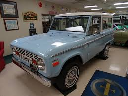 100 Southern Truck Bodies 1971 Ford Bronco 4wd Uncut Stock Body Fully Restored