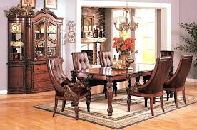 Dining Room Sets With China Cabinet Formal In Cherry Table And Matching