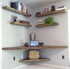 Diy Corner Desk Designs by Corner Floating Shelves Shelves Ideas