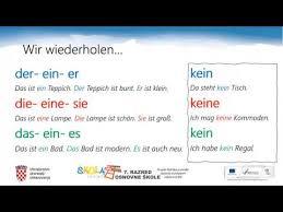 7 r 03 06 2020 njemački jezik ein kein ja nein