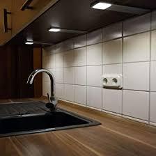 acce led unterbauleuchte küchen möbel leuchte warmweiß inkl konverter ein strahler mit schalter energieeffizienzklasse a 2er set