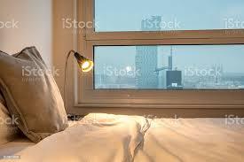 schlafzimmer mit ausblick stockfoto und mehr bilder barcelona spanien