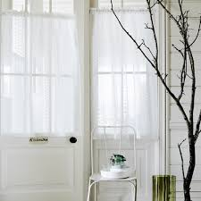 White Sheer Voile Curtains by 13 Beautiful Window Dressing Ideas
