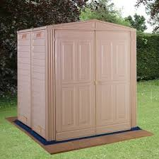 6 X 5 Apex Shed by 5 U0027 X 5 U0027 Duramax Largehut Plastic Apex Shed With Floor What Shed