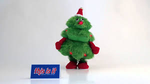 Plush Singing And Dancing Christmas Tree From This Is It Stores