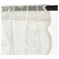 Dotted Swiss Lace Curtains by Alvine Spets Lace Curtains 1 Pair Ikea