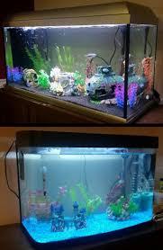 Spongebob Fish Tank Ornaments Uk by 417 Best Fish Tank Stuff Images On Pinterest Fish Tanks