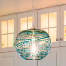 glass pendant lights glass pendant lights for kitchen mini
