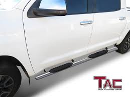 Amazon.com: TAC Side Steps For 2007-2018 Toyota Tundra Crew Max Cab ... 2016 Toyota Tundra Vs Nissan Titan Pickup Truck Accsories 2007 Crewmax Trd 5 7 Jive Up While Jaunting 2014 Accsories For Winter 2012 Grade 5tfdw5f11cx216500 Lakeside Off Road For Canopy Esp Labor Day Sale Tundratalknet Clear Chrome Led Headlights 1417 Recon Karl Malone Youtube 08 Belle Toyota Viking Offroad Shop Puretundracom